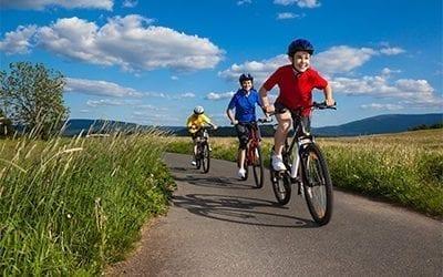 Biking in Lenoir, North Carolina