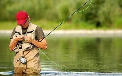 Fishing in Lenoir, North Carolina