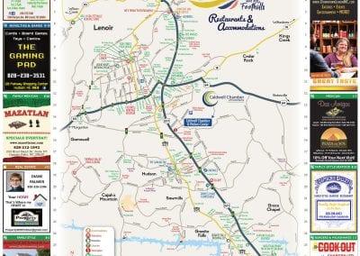 Caldwell Regional Map